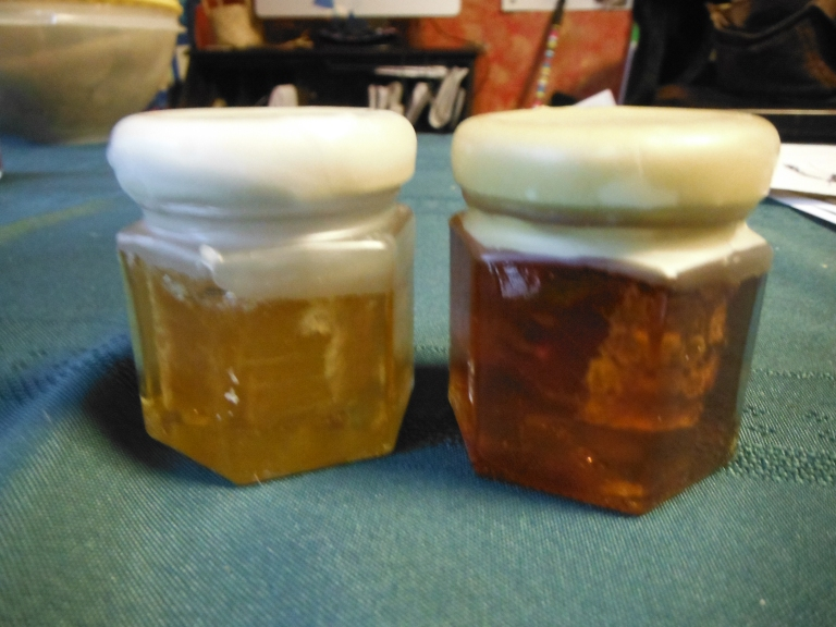 Spring Vs Fall honey