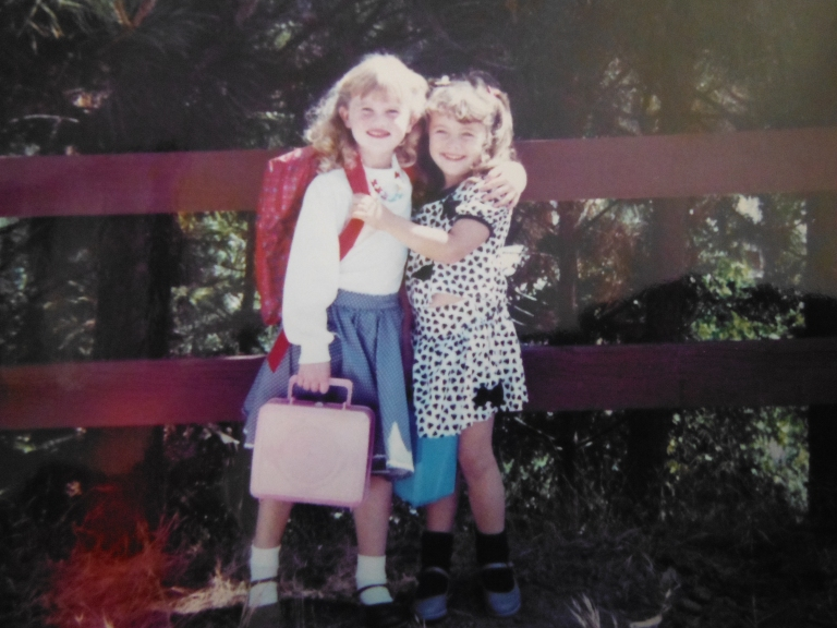 The first day of kindergarden.