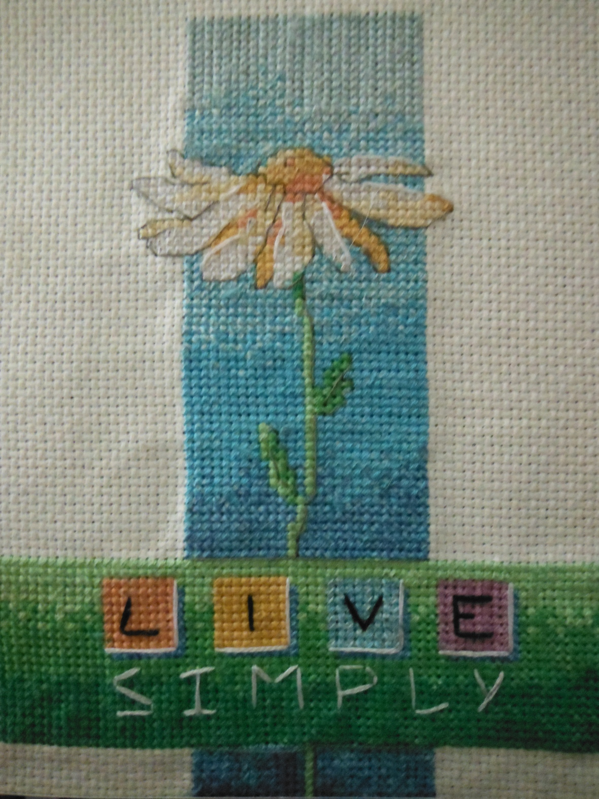 Cross stitch from last year.