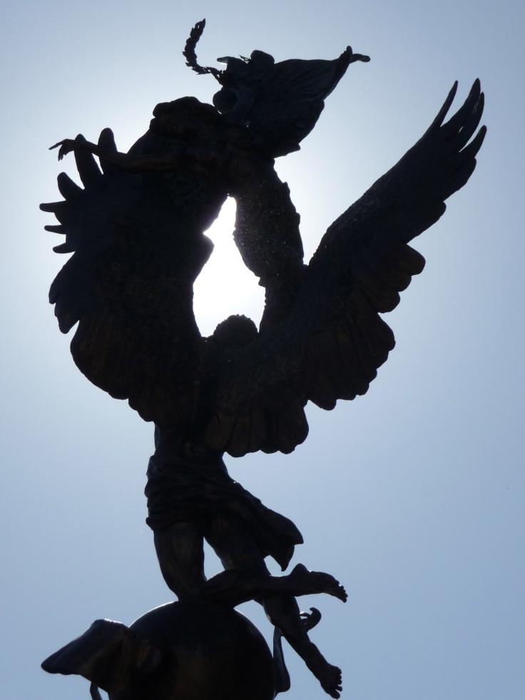 Fallen angel in LA