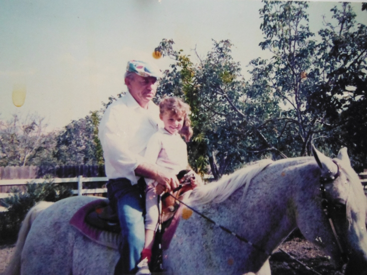 Me and my grandpa on Mark <3