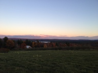 From the top of an old abandoned apple orchard on my way home.