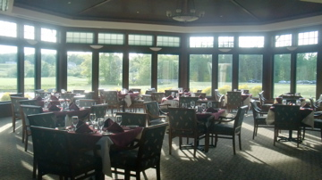 The Main Dinning-room at the club.  There are several others.